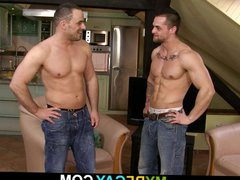 Muscle man vidz cheating wife  super with hot gay stallion