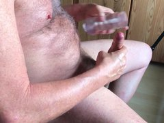 Big Load vidz of semen  super - and fun with a silicon toy