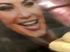 Kim Kardashian vidz PISS &  super CUM Tribute 4