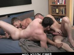 FamilyDick - vidz Muscle Daddy  super Fucks His Stepson And The Horny Postman