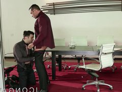 Mature gay vidz boss ass  super fucks employee on the conference table
