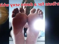 Feet tribute vidz for a  super damn sexy white wife