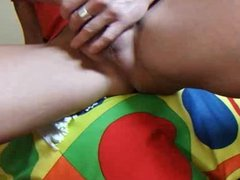 Guy stroking vidz his cock  super and farting