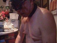 Slave Joe vidz 2nd blowjob  super and analtraining Part 3