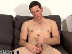 British gay vidz stud David  super Shannon strokes his cock and cums