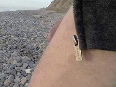 Wanking day vidz at the  super beach