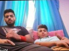 Egyptian friends vidz jerk off  super together