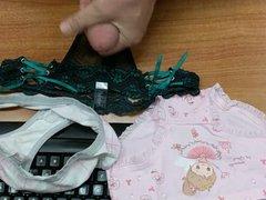 Cum on vidz Nice Panties  super Not My Daughter's Green Lace Trim Panty