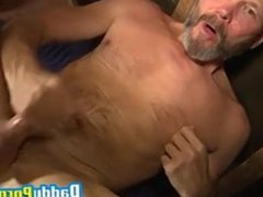 Daddy fingers vidz his tight  super asshole while jerking off wildly