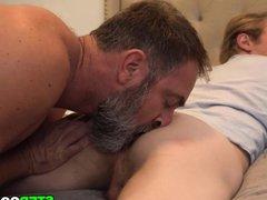 Twink Caught vidz Masturbating By  super Bear Stepdad