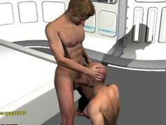 Bald 3d vidz gay guy  super fucked doggystyle