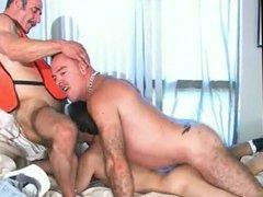 Two hot vidz Daddy macho  super fucking