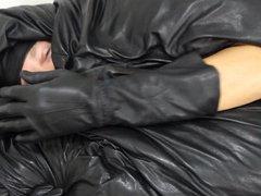 Leather mask vidz and enjoying  super soft and supple leathers