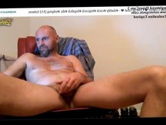 Hot Daddy vidz Stroke his  super Fat Dick