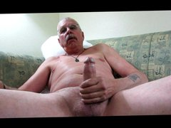 67 year vidz old jacking  super hard cock