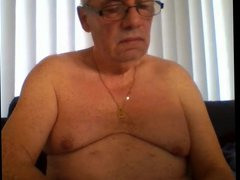 grandpa stroke vidz on webcam