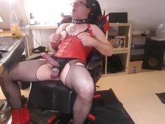 Sissy faggot vidz slave pig  super whore cam show