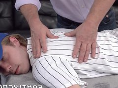 Bearded daddy vidz raw penetrates  super his stepson missionary style