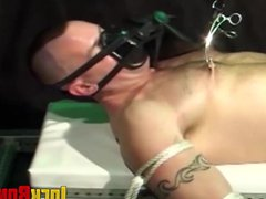 Dominated man vidz restrained as  super his nipples are tormented
