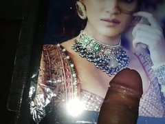 Kriti Sanon vidz Moaning Cum  super Tribute With Oiled Dick (3)