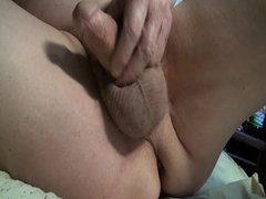 polubokom with vidz balls in  super the ass + masturbate with