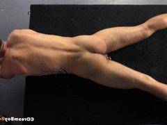 Hung Nerd vidz Cums in  super Straight Virgin Studs Ass After Raw Fucking - Gay BDSM