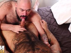 BEARFILMS Bear vidz Silien Bottoms  super For Hunk Dick After Blowjob