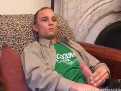 'Casey Olson vidz Stroking His  super Meat'